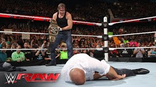 Dean Ambrose vs. Bray Wyatt: Raw, March 7, 2016