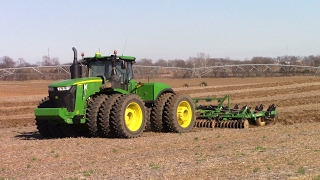 Big Tractor Power Back in the Field for 2017: John Deere 9620R