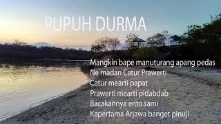 Pupuh Durma - Bali