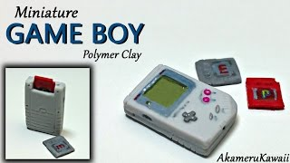 getlinkyoutube.com-Miniature Game Boy - Nintendo inspired Polymer Clay Tutorial