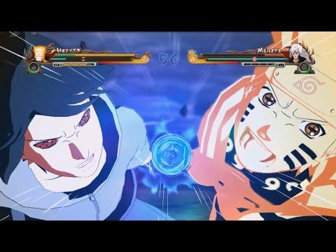 NARUTO SHIPPUDEN: Ultimate Ninja STORM Revolution - Naruto & Sasuke VS Rikudou Madara