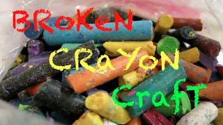 How To Use Broken Crayons!
