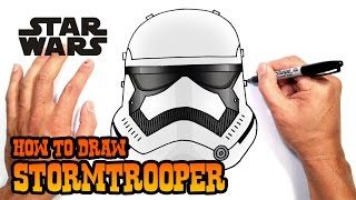 getlinkyoutube.com-How to Draw a Stormtrooper (Star Wars)- Easy Art Lesson
