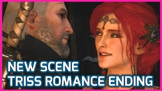 getlinkyoutube.com-Witcher 3 ► NEW TRISS ROMANCE ENDING Scene (I Love You), Patch 1.10