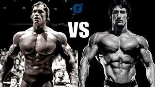 getlinkyoutube.com-Arnold Schwarzenegger vs Frank Zane - Classic Bodybuilding Motivation