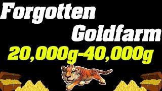 getlinkyoutube.com-Forgotten Goldfarm | 20,000g - 40,000g Per Hour |
