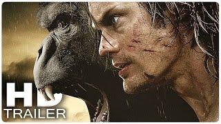 getlinkyoutube.com-LEGEND OF TARZAN Trailer German Deutsch | Tarzan Film 2016