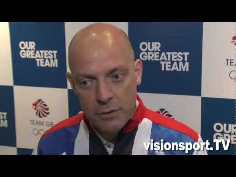 London 2012 - Cycling: Dave Brailsford OLYMPIC GOLD MEDAL MAKER