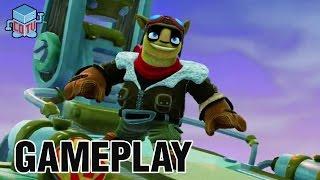 getlinkyoutube.com-Skylanders Trap Team Nightmare Express Gameplay + Blades + Golden Queen