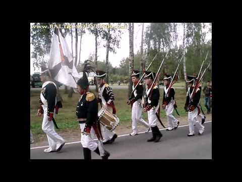Реконструкция Бородинского сражения, часть III_Калужский Путник