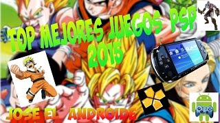 getlinkyoutube.com-TOP 10 MEJORES JUEGOS PARA PSP- [2016]- Android(PPSSPP)+LINK DE JUEGOS
