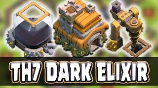 "getlinkyoutube.com-Clash Of Clans | ""TOWN HALL 7 DARK ELIXIR FARMING BASE"" | Best Defense Strategy!"