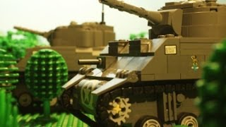 getlinkyoutube.com-1944 Lego Tank Battle