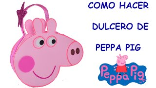 getlinkyoutube.com-Dulceros de Foami de Peppa Pig -El mundo de MyG