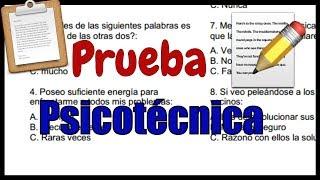 getlinkyoutube.com-PRUEBA PSICOTÉCNICA - Ejercicios Resueltos