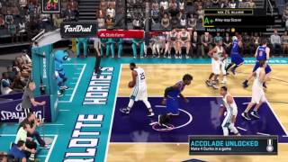 Nba 2k16 Badges Tutorial | Brick Wall | Screen Outlet | And Lob City Finisher In One Game!!!