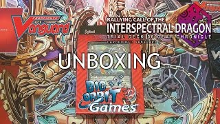 Cardfight!! Vanguard G-TD06 Rallying Call of the Interspectral Dragon Unboxing
