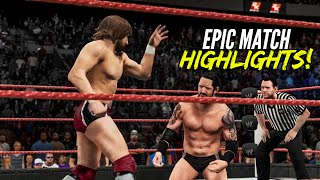 getlinkyoutube.com-WWE 2K15 Extreme Rules 2015 Daniel Bryan vs Bad News Barrett | Epic Match Highlights