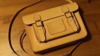 getlinkyoutube.com-Making a Leather Classic Satchel