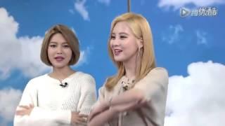 getlinkyoutube.com-SNSD Seohyun & Xiuying SooYoung & SeoHyun Sing world Chinese Arts
