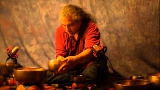 getlinkyoutube.com-70 minute~7 Chakra Meditation with 21 Antique Tibetan Singing Bowls~Crown~B thru Root~C
