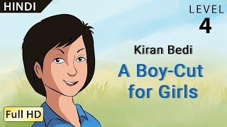 "getlinkyoutube.com-Kiran Bedi, A Boy-Cut for Girls: Learn Hindi - Story for Children ""BookBox.com"""
