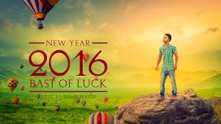 getlinkyoutube.com-Photoshop Tutorial | New Year 2016 Photo Manipulation in Photoshop Effects