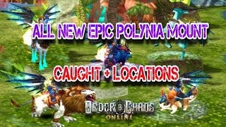 getlinkyoutube.com-Order and Chaos online - ALL EPIC NEW MOUNT - Polynia Locations - How to catch