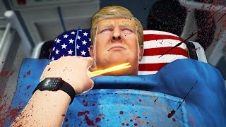 getlinkyoutube.com-WOULD YOU DO IT?? | Surgeon Simulator Trump DLC