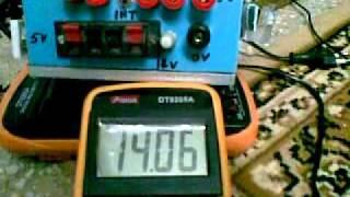 getlinkyoutube.com-Project Power Supply Unit(hand made trainer board)