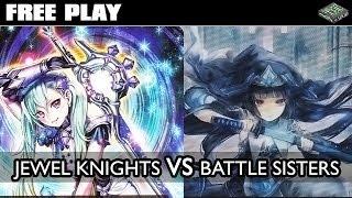 getlinkyoutube.com-Free Play - Jewel Knights vs Battle Sisters