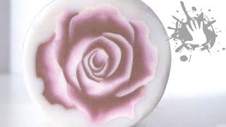getlinkyoutube.com-Polymer clay tutorial murrina Rosa tridimensionale / millefiori cane 3D Rose