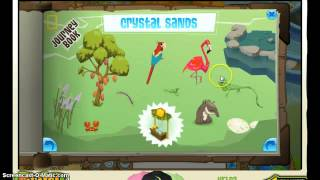 getlinkyoutube.com-Animal jam- journey book- Crystal sands-Episode 1