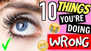 10 Things You're Doing WRONG Everyday!! | Life Hacks You Need To Know!!