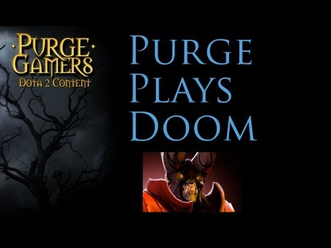 Dota 2 Purge plays Doombringer