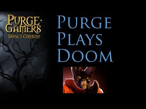 Dota 2 Purge plays Doombringer