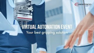 Click to view Europe Virtual Automation Event:  Your Best Gripping Solution - EN