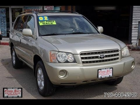 2002 Toyota Highlander Problems, Online Manuals and Repair ...