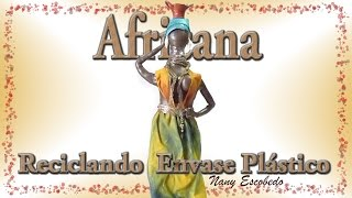 getlinkyoutube.com-AFRICANA CON ENVASES RECICLADOS / African with recycled packaging