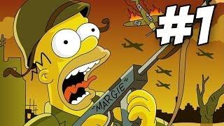 getlinkyoutube.com-The Simpsons Game Walkthrough | Part 1 (Xbox360/PS3/Wii)