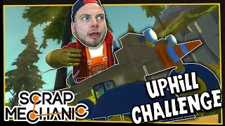getlinkyoutube.com-Scrap Mechanic! - MOUNTAIN CLIMB CHALLENGE! Vs AshDubh - [#3] | Gameplay |