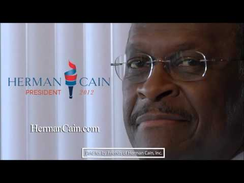 Creepy Smile Video Herman Cain's Creepy Smile i