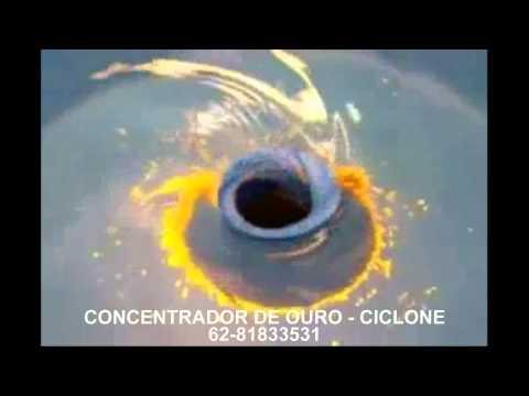 CONCENTRADOR DE OURO CICLONE