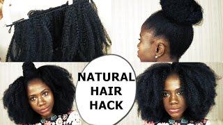 getlinkyoutube.com-NATURAL HAIR HACK (MUST WATCH) PART 1