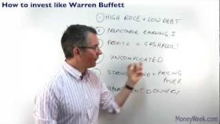 How to invest like Warren Buffett - Tutorials