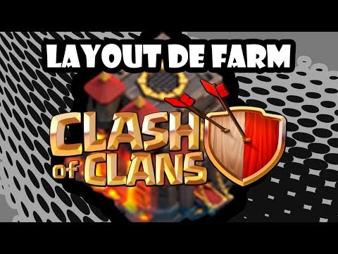 Resultados Para (( Clash Of Clans Base Para Centro 8 Farming E Defense