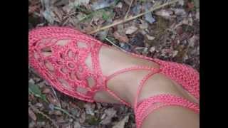 getlinkyoutube.com-CROCHET SHOES NZ 1 https://www.facebook.com/crochetshoes