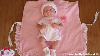 getlinkyoutube.com-Berenguer Boutique La Newborn 38cm Real Looking Reborn doll and Twins -Looking after Baby Dolls