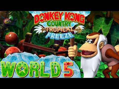 Donkey Kong Country: Tropical Freeze - World 5 (Co-op)