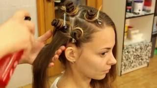 getlinkyoutube.com-Кудри/Локоны без плойки и бигуди   Кудри без вреда для волос   Heatless curls